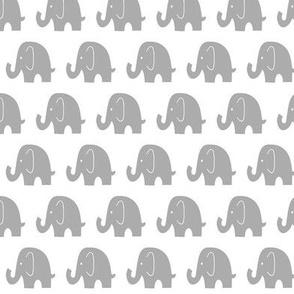 Little Baby Elephants Grey