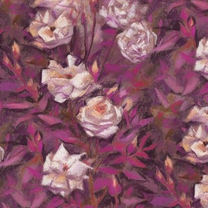 white_roses_julia_khoroshikh_pattern_pinkbrown150