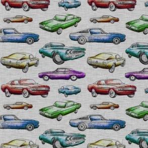 Muscle Cars - Rainbow
