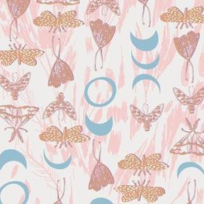 Deluna Moths (blush) MED