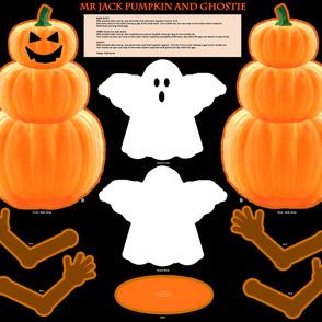 Mr Jack Pumpkin and Ghostie