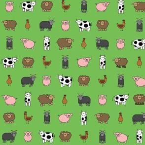 mint green farm