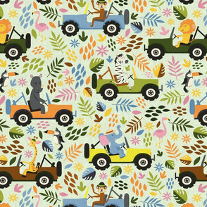 animals on safari 1