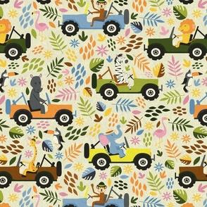 Animals on Safari