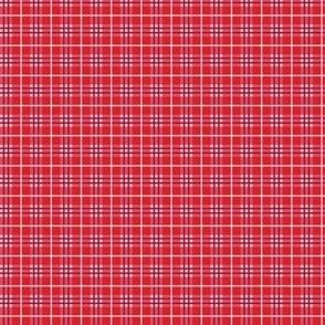 Tiny Red Plaid