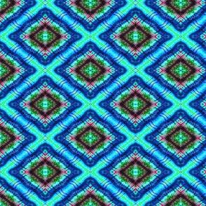 Radient Blue Diamond Eyes