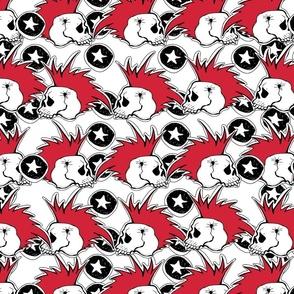 Punk rock pattern