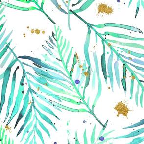 green geode tropical plants