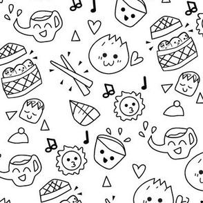 Kawaii Bilder Zum Ausmalen Essen - Malvorlagen