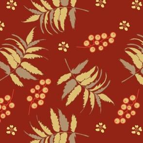 Art nouveau florals coordinate | 3