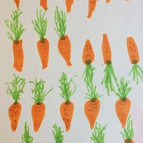 Carrots gone wild