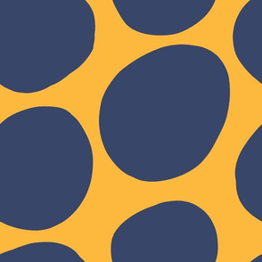 Mod Dots-Blue + Yellow