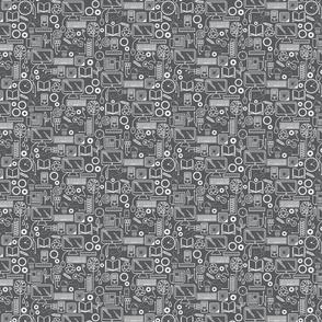 STEAM - White on Gray