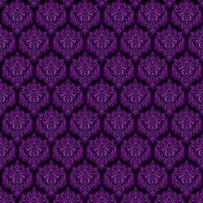 purple damask