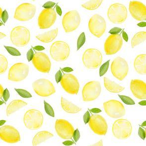 seamless lemon pattern