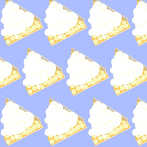 Banana Cream Pie Slice