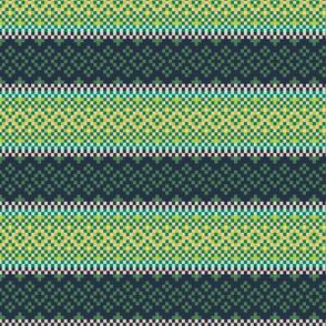 Ethnic green pattern
