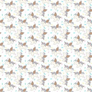 Unicorn Sprinkles White Extra Small