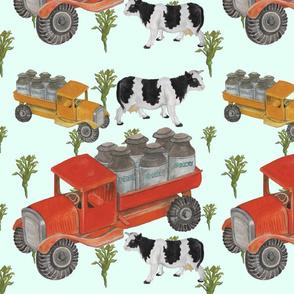 Little Toy Dairy Trucks