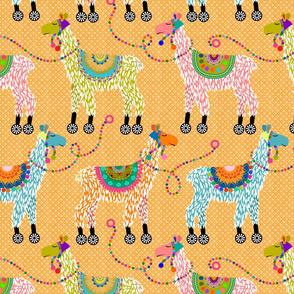 Llama pull toys