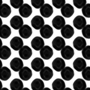dots in black