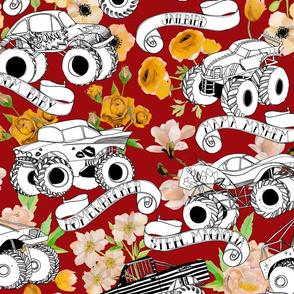 Monster Trucks - Red