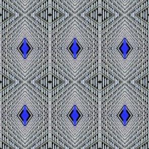 Diamond Sky Pinstripes