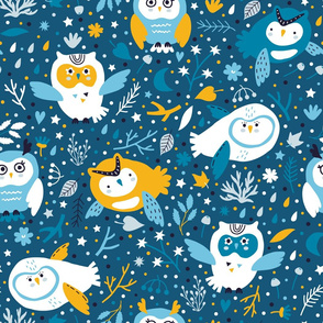 Owl night Big scale