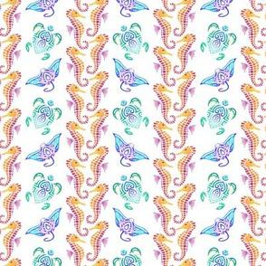 Julia's Pattern Small on White