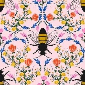 Bee Garden - pink