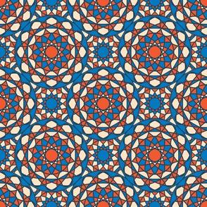 Indian Geometric Mandala Ornament