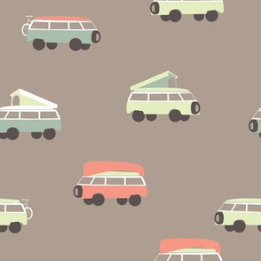 Camper - Tan Background