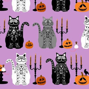 Day of Dead Cats - multi