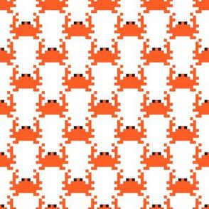 Pixel crabs