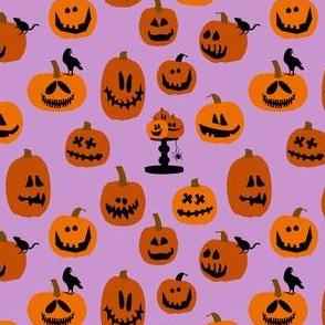 Pumpkins Purple