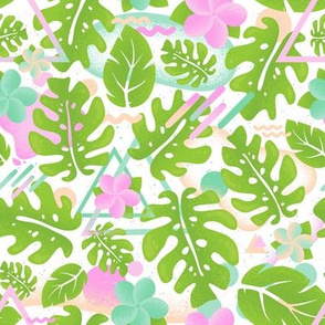 Tropical jungle thai pattern