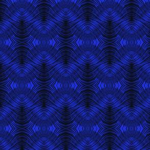 Blue Glass Waves