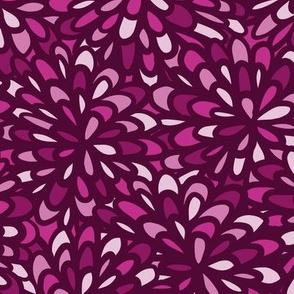 Magenta Blooms