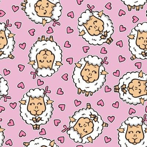 girl_sheep_pattern