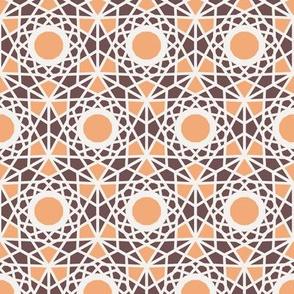 Geometric Hexagonal Arabic Pattern