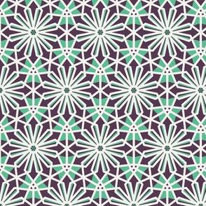 Mosaic Hexagonal Arabic Pattern