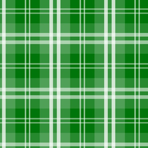 Christmas Green Tartan Plaid Check