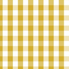 Primrose Yellow Mini Gingham Check Plaid