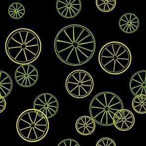 Lime and lemon print.