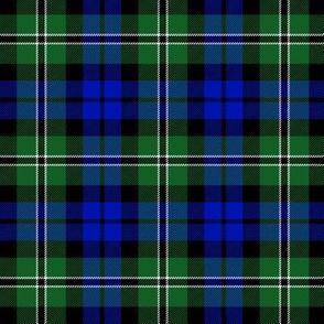 """Wilson's tartan #175, 3"""" blue/green"""