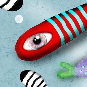 Fishes Rupy de Tequila Fabric Design - Ruth Fitta-Schulz 2018