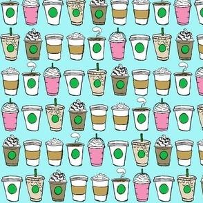 Coffee To Go - Mini Blue