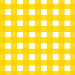 Vichy Karo Gelb - Gingham Yellow
