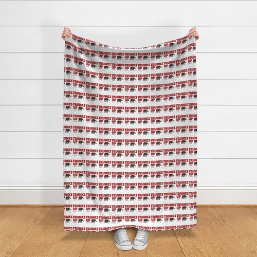 Trunks Up Delta Sigma Theta Sorority I Spoonflower
