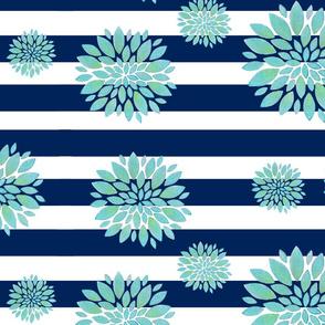 ratlles flors blaves